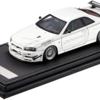 【PR】セール情報: イグニッションモデル 1/43 ニッサン スカイライン GT-R Mine's (R34) ホワイト[33%OFF]【数量限定】