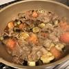 定食春秋(その 16)牛肉とナスのフライパン蒸し〜焼肉のタレ風味