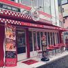 名古屋 栄(矢場町)の『ライトニングバーガー』はアメリカを感じさせる赤いインスタ映えだぞっ! #ライトニングバーガー