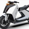 BMWの電動スクーターはZ型デザインのユニークなバイク