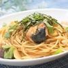 フライパン一つで超簡単!ブリと玉ねぎの和風パスタの作り方・レシピ