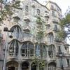 スペイン旅行3 2017/10/11 1日目昼 ガウディ建築(カサ・ミラ)とカタルーニャ広場を巡る