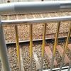 穴守稲荷駅に固定柵を設置されていますよ!