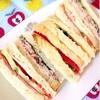 生ハムとなまり節のサンドイッチ
