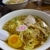 らーめん太陽 『Cセット(ラーメン+ジャンボ餃子×3+半味玉)』