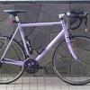 ご自分で組まれた自転車、楽しみもいろいろ