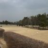 午後からは、春の嵐の中、再び前橋ゴルフ場です。