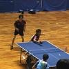 全日本卓球選手権・男子ダブルス三重県予選 2回戦
