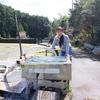 和歌山県 串本町 湯の谷のステンレス浴槽の湯♪