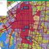 用途地域地図から見えてくる都市構造の違い