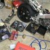 NSR250Rのエンジンオーバーホールを開始しました