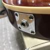 レスポールのジャックプレートをMontreuxの真鍮製に変えた