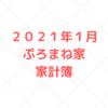 【家計管理 結果 検証】2021年1月度 家計簿