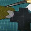 オビツ11の型紙の教科書でTシャツとズボンを作ってみた