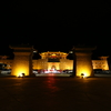 中国西北シルクロードの旅(2)ホテル敦煌山荘(The Silk Road Dunhuang Hotel)