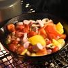 キャンプのずぼら簡単料理 スキレットでおしゃれご飯