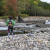 北海道、美瑛町、辺別川にニジマス釣り!アメマスもゲットです!