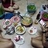 深夜のベトナム鍋料理 Lẩu (ラウ)。平日です。。。