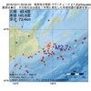2016年10月11日 03時04分 根室地方南部でM2.7の地震
