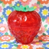 イチゴ雑貨*シャイニーストロベリーポットが可愛い。 [ Seria ]