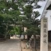 0609-2 藤森神社で三日月写し