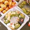 クリスマスパーティーにオススメのレシピ*リース風のパン2種とタコリカンドッグ【ホットケーキミックス・ホームベーカリー】