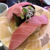 スカイビルの「回し寿司 活 横浜スカイビル店」で寿司いろいろ