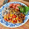 今日のベジランチは、豆腐のガパオライス