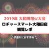 【2019年大和田花火大会】ロヂャースマート大和田店での観覧レポ