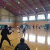 宮城県フェンシング第一回ランキング大会初日