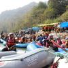 【インド・ヒンディー語留学日記】週末にヨガの聖地、リシケシに行ってきた!1週間頑張ったご褒美はガンジス川でのラフティング