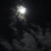 年越しラーメンと大晦日の月