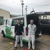 日本一の人工芝のシェアを誇る新東サービスさんが、ONESTEP の運営予定の自立援助ホームに芝を寄贈してくださいました!