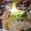 Pasco ホイップメロンパン マロン  食べてみました