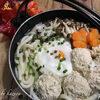 鶏団子入りシャンタン鍋焼うどん|悲しみの表示