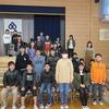 6年生:最後の学年集会① 皆勤賞31人