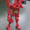 ほねほねゲリオン2号機の関節を強化改造しました!
