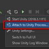 【Rider】Rider から Unity を再生、一時停止、停止、ステップ実行する方法