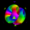 Mayaviの3D画像データX3DをWebGLでレンダリングしてブログで動かしてみる。