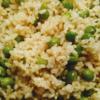 グリンピースご飯(玄米・土鍋)