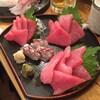 【久松町】 酒喰洲桜井水産:立ち飲みなれど、刺身のうまさは絶品です