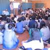 東京賢治シュタイナー学校 フォーグル先生50歳の誕生日!