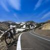 自転車で残雪の浄土平・磐梯吾妻スカイラインを走ってきた