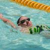 月曜日の中級背泳ぎとスタジオレッスン