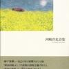 河﨑洋充 詩集『菜の花の駅』を読む  (2018年8月)