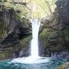 雨上がりにしか現れない幻の滝「おしらじの滝」