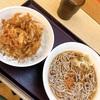 【グルメ】新宿で食べた、かき揚げ丼と温かいそば☆