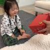 様子見のクリスマス(3歳4ヶ月)