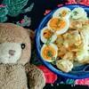今日のごはん:青じそドレッシング&梅干しでサッパリ美味丼!