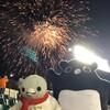神戸名物、スタジアムの花火ナイター!モモンガも大喜びです(春の花火ナイター編その3)(192)
